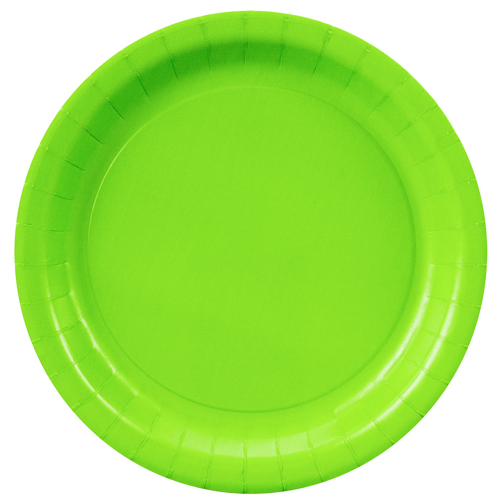 Fresh Lime (Lime Green) Dessert Plates (24 count)