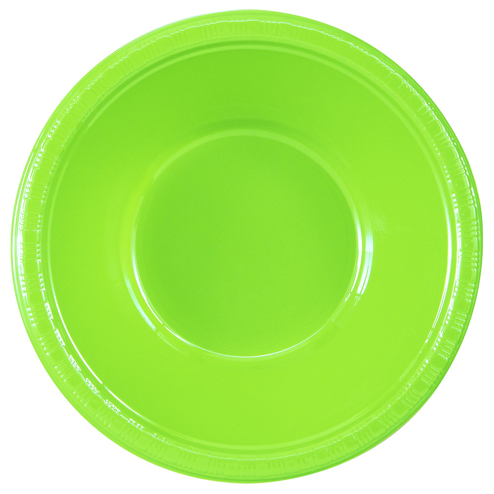 Fresh Lime (Lime Green) Plastic Bowls (20 count)