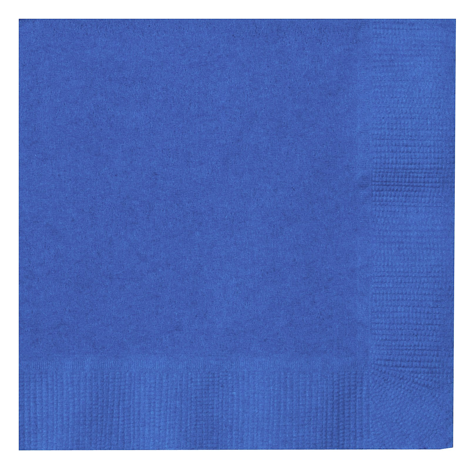 True Blue (Blue) Beverage Napkins (50 count)