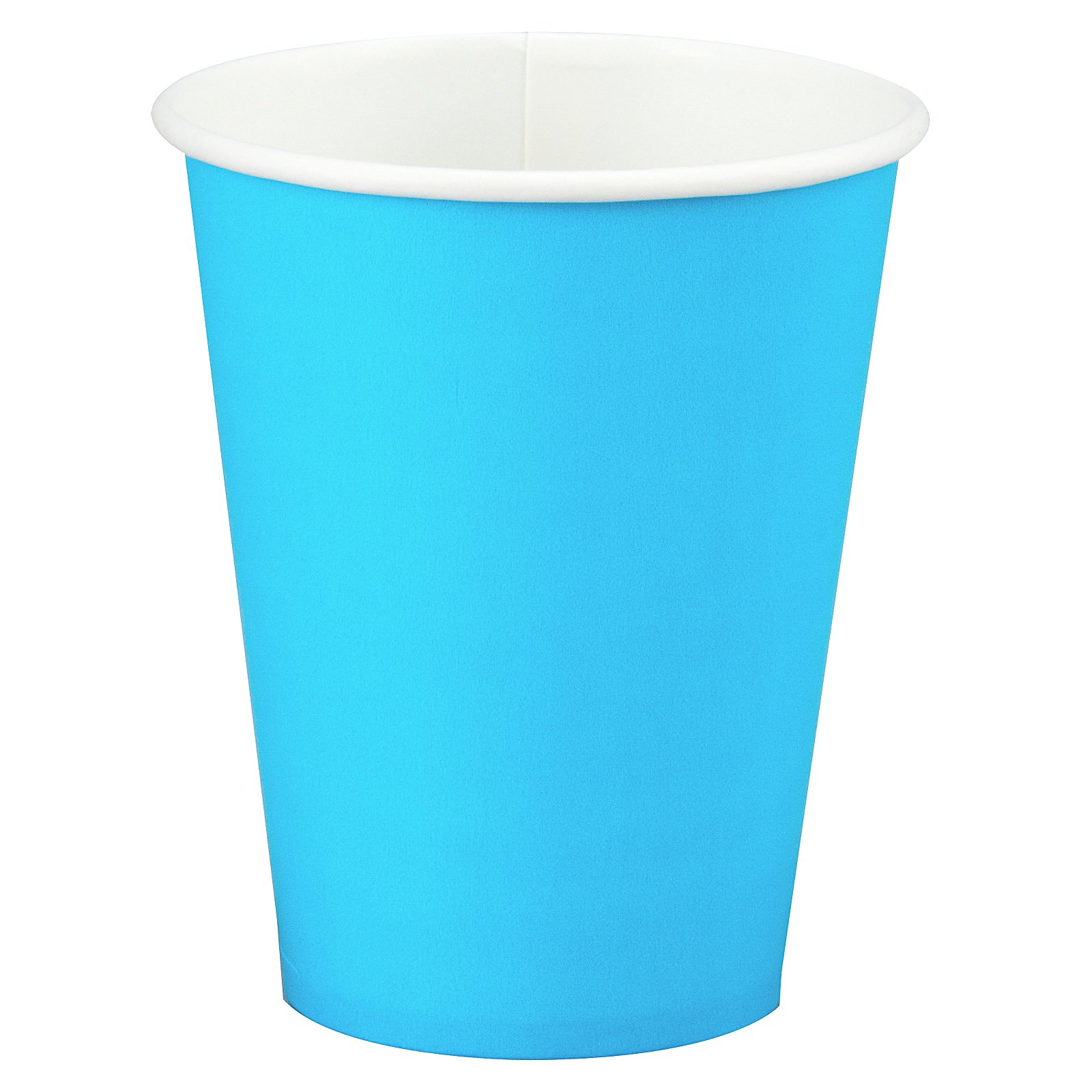 Bermuda Blue (Turquoise) 9 oz. Paper Cups (24 count)