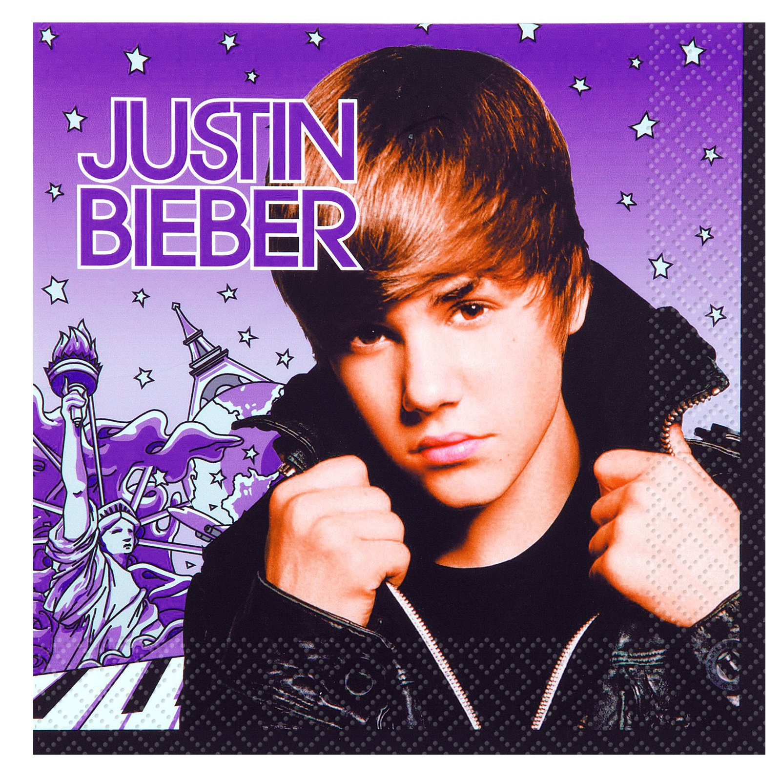 Justin Bieber Lunch Napkins (16 count)