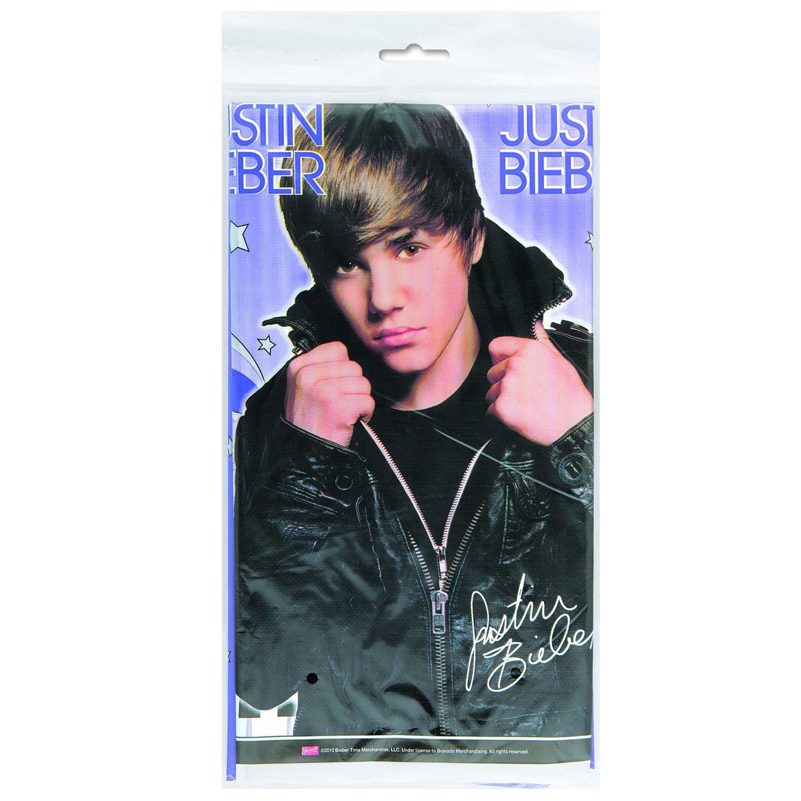 Justin Bieber Plastic Tablecover - Click Image to Close