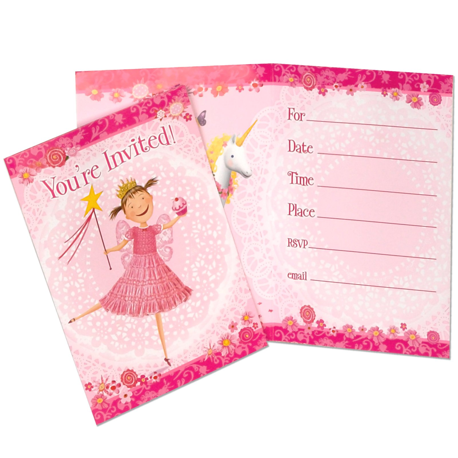 Pinkalicious Invitations (8 count)