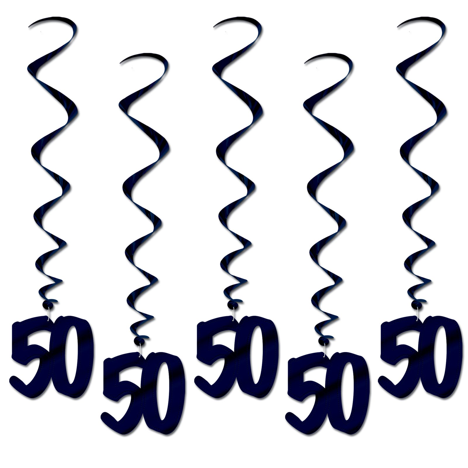 """50"" Hanging Whirls (5 count)"
