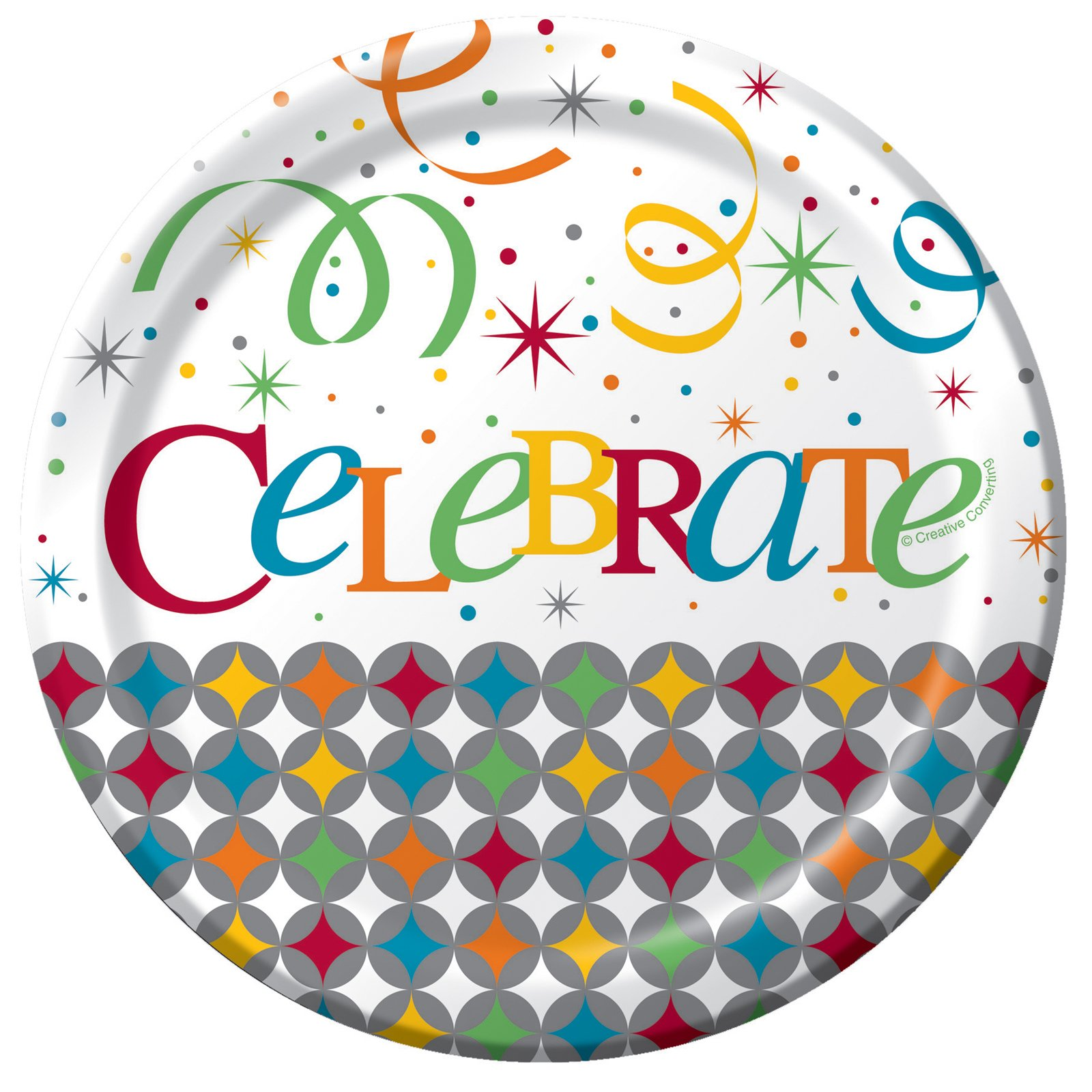 Celebrate In Style Dessert Plates (8 count)