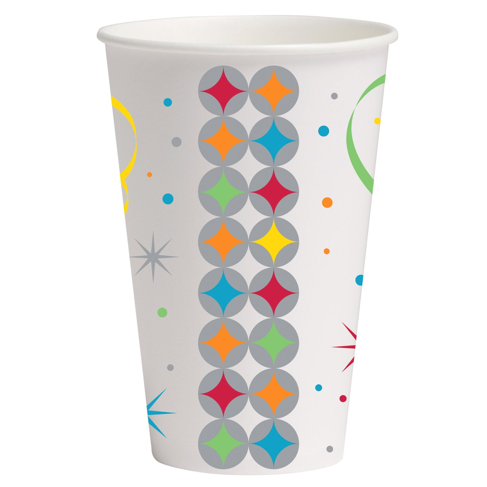 Celebrate In Style 12 oz. Paper Cups (8 count)