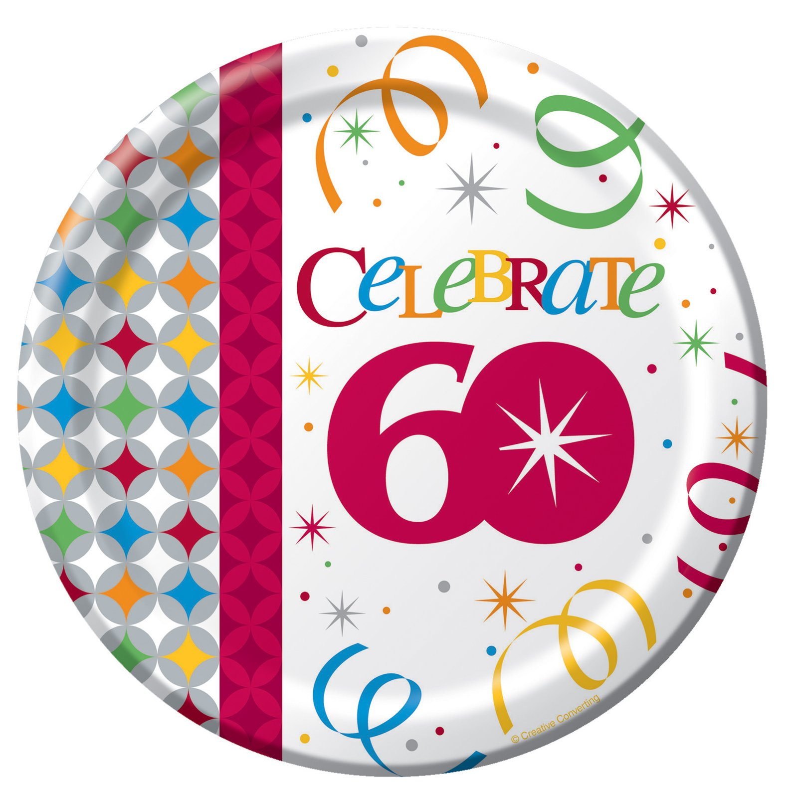 Celebrate In Style 60 Dessert Plates (8 count)