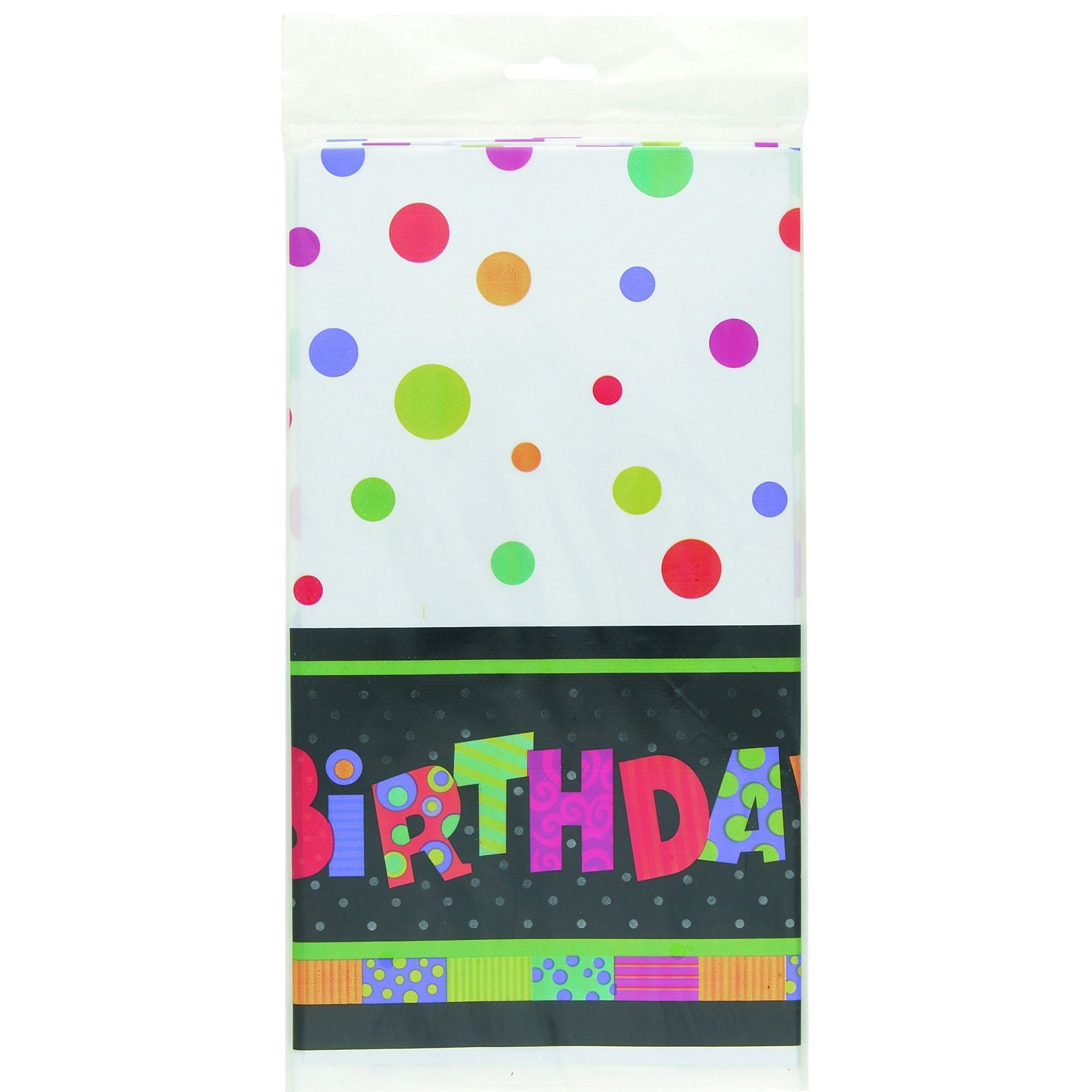 Infinite Birthday Plastic Tablecover