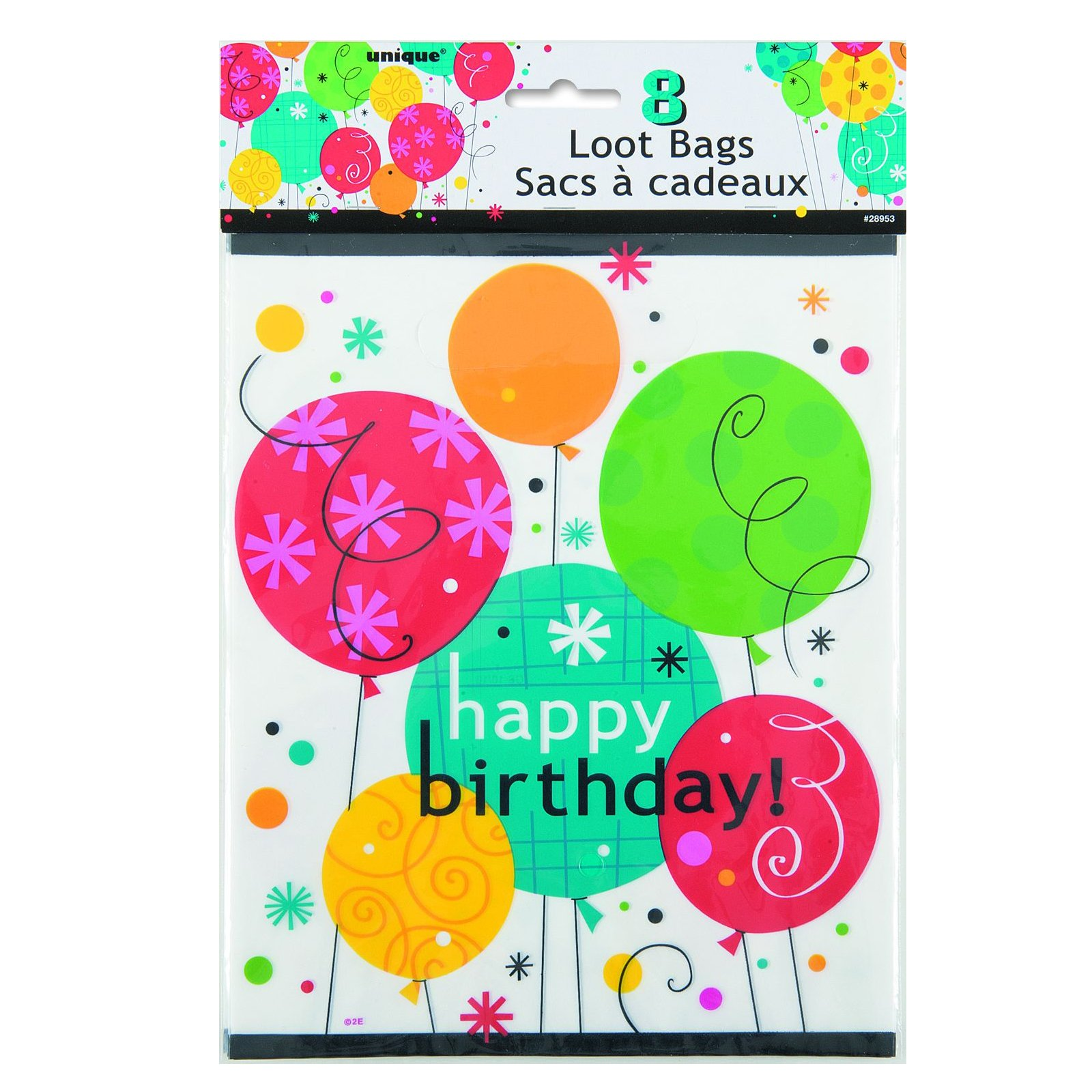 Breezy Birthday Treat Bags (8 count)