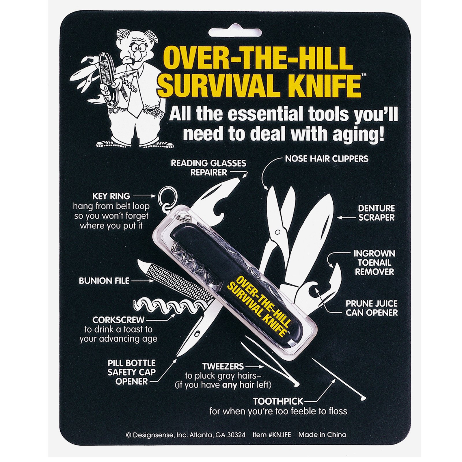Over the Hill Survival Knife
