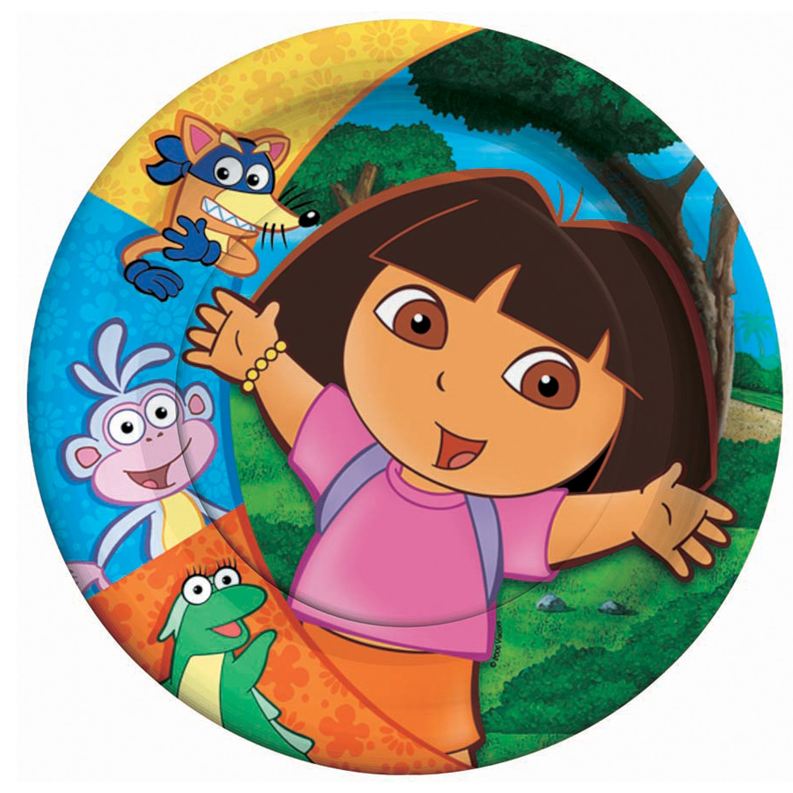 Dora and Friends Dessert Plates (8 count)