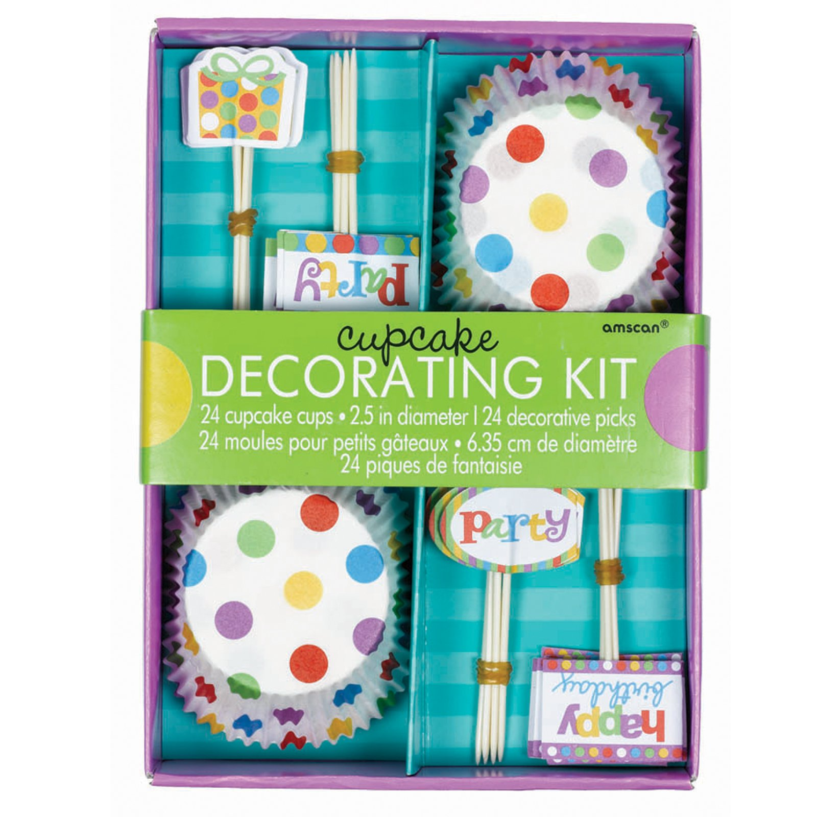 Happy Birthday Cupcake Decorating Kit