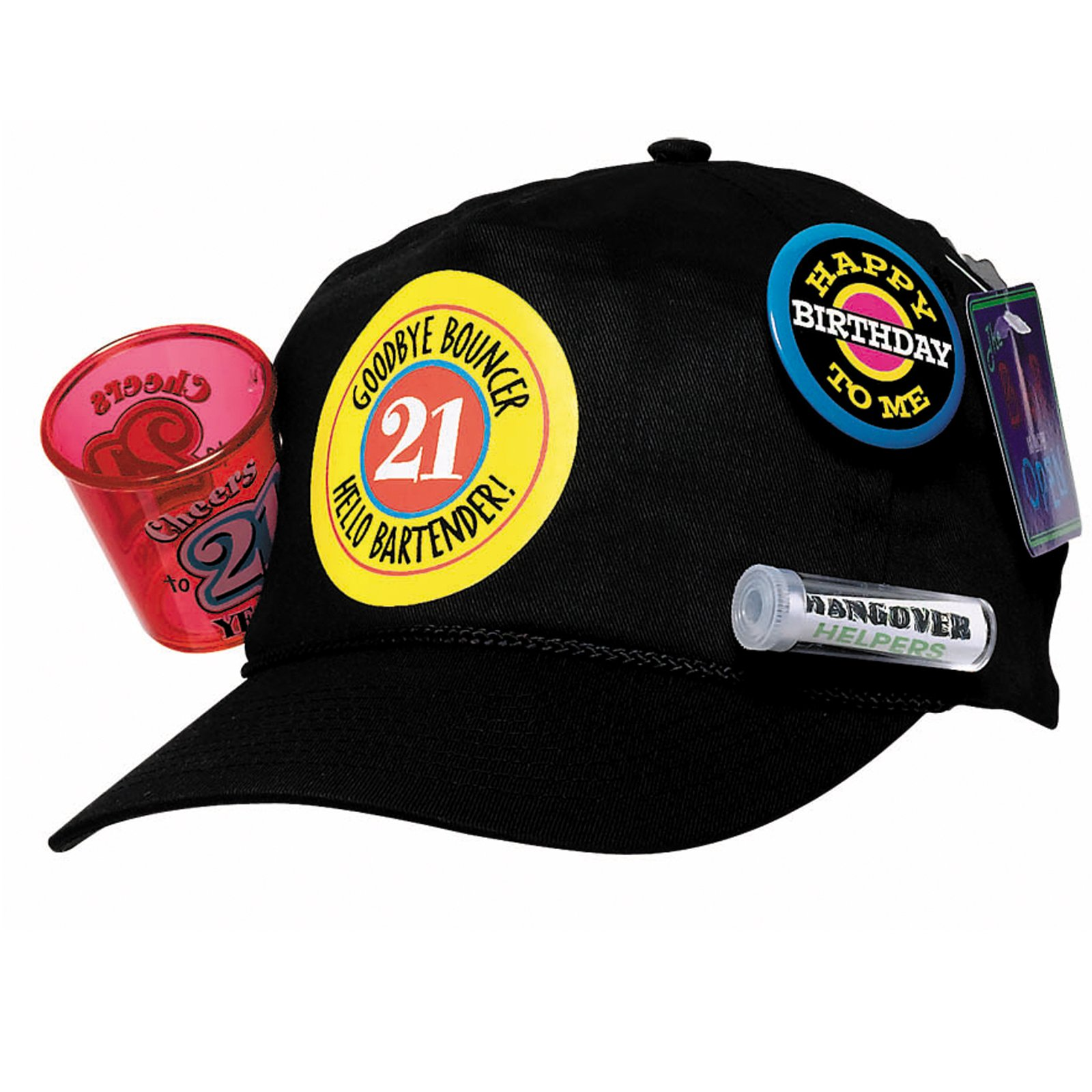21st Birthday Survival Baseball Cap