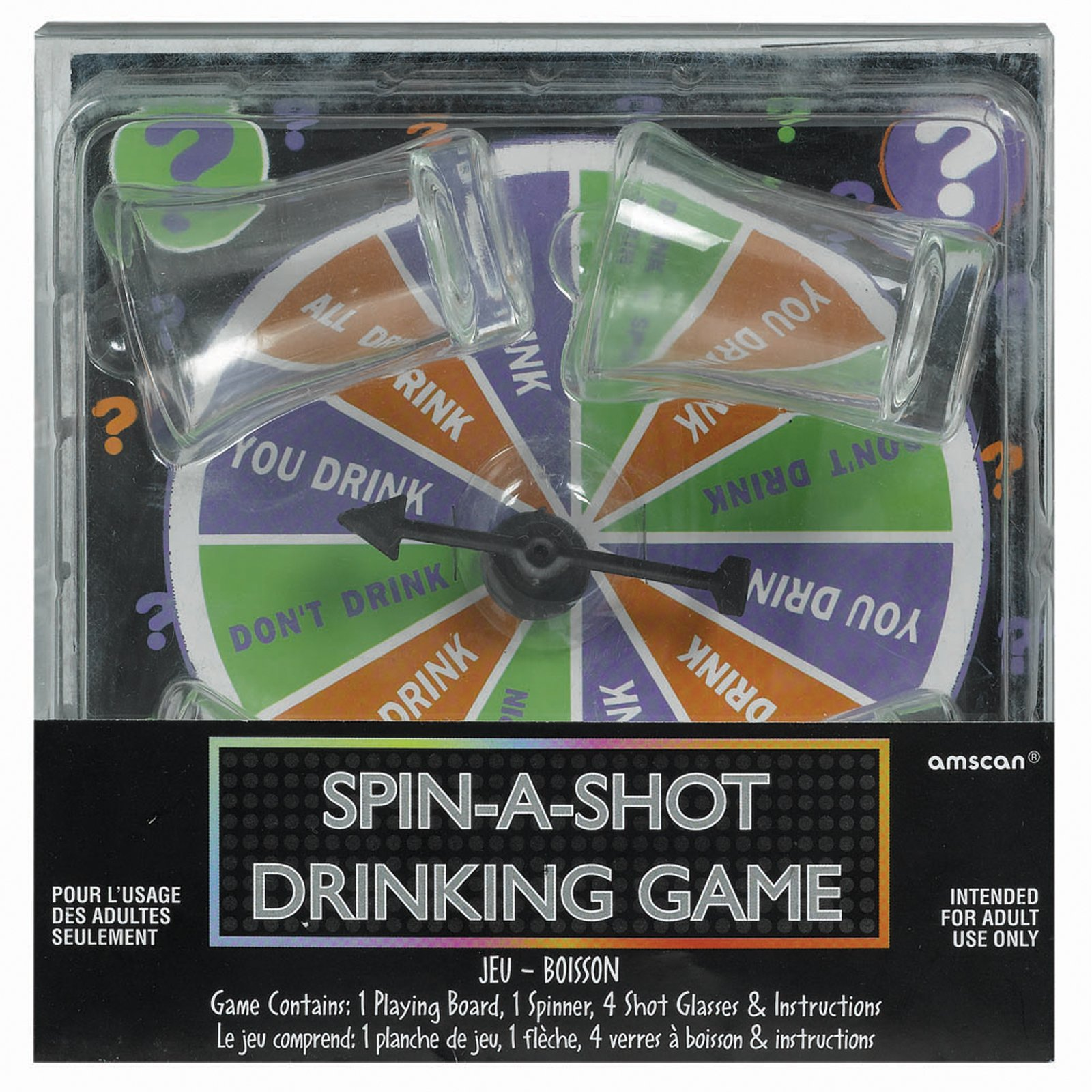 Adult Spin-A-Shot Drinking Game