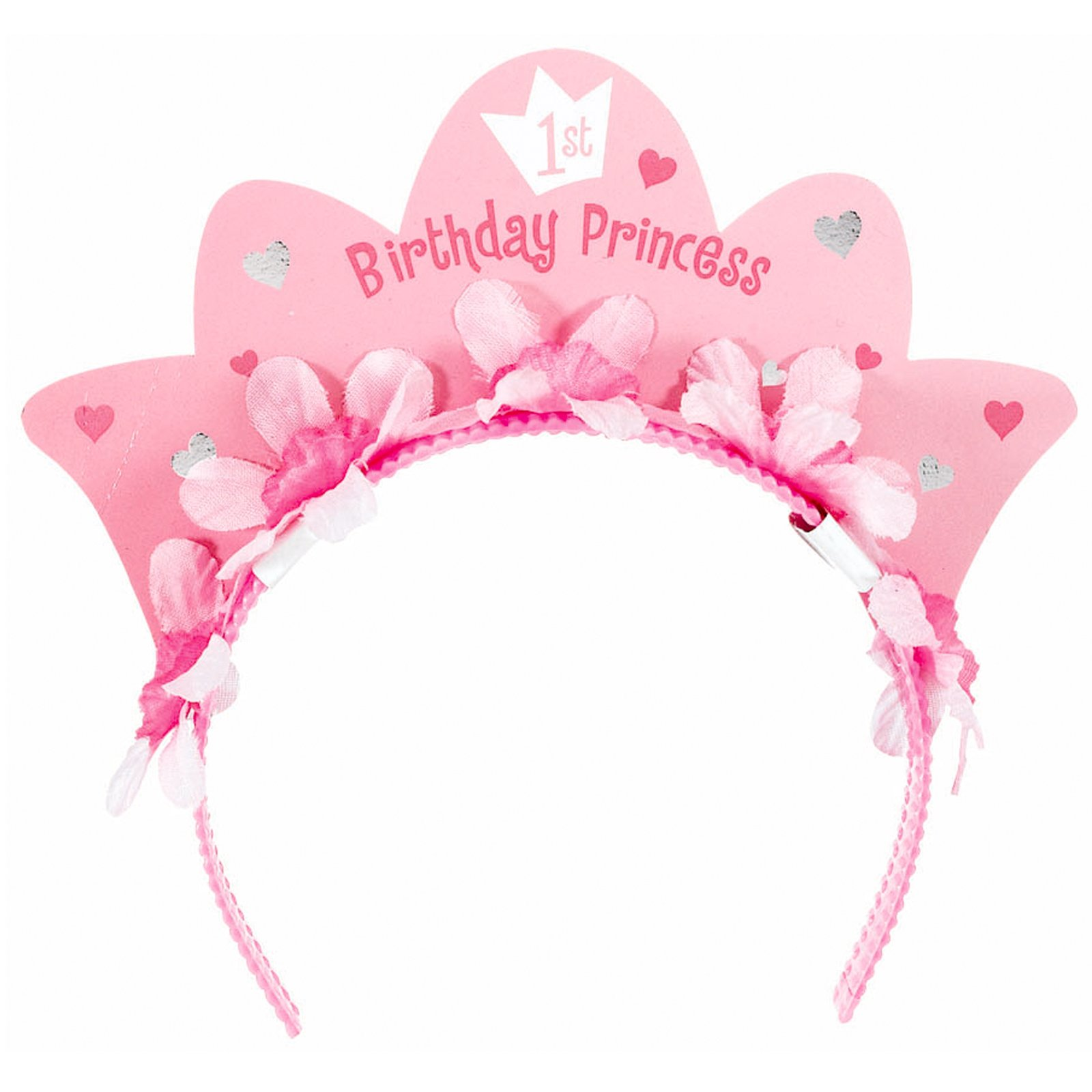 1st Birthday Princess Tiara Headband