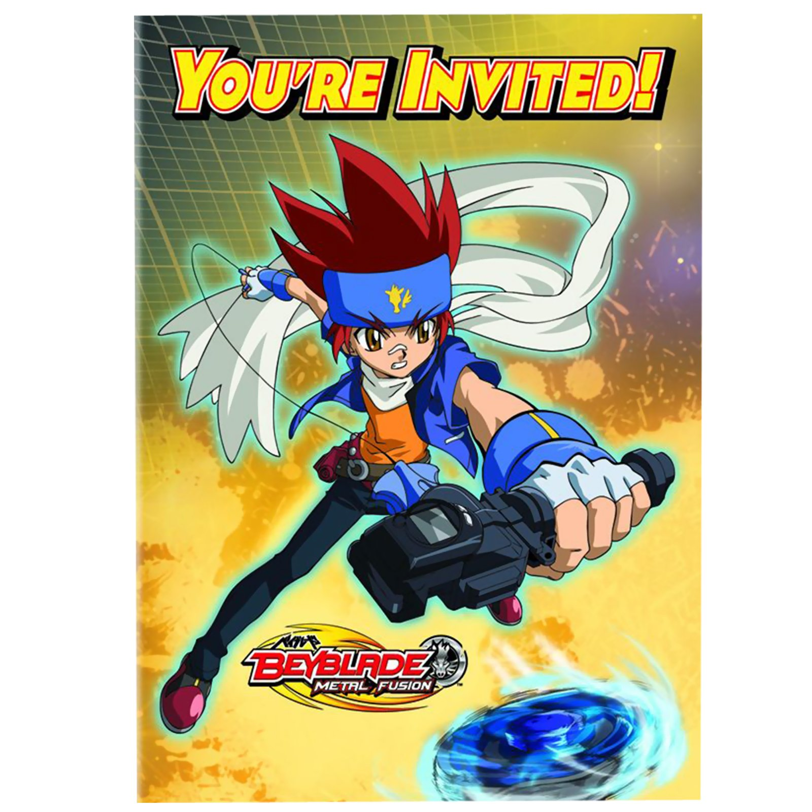 Beyblade Invitations (8 count)