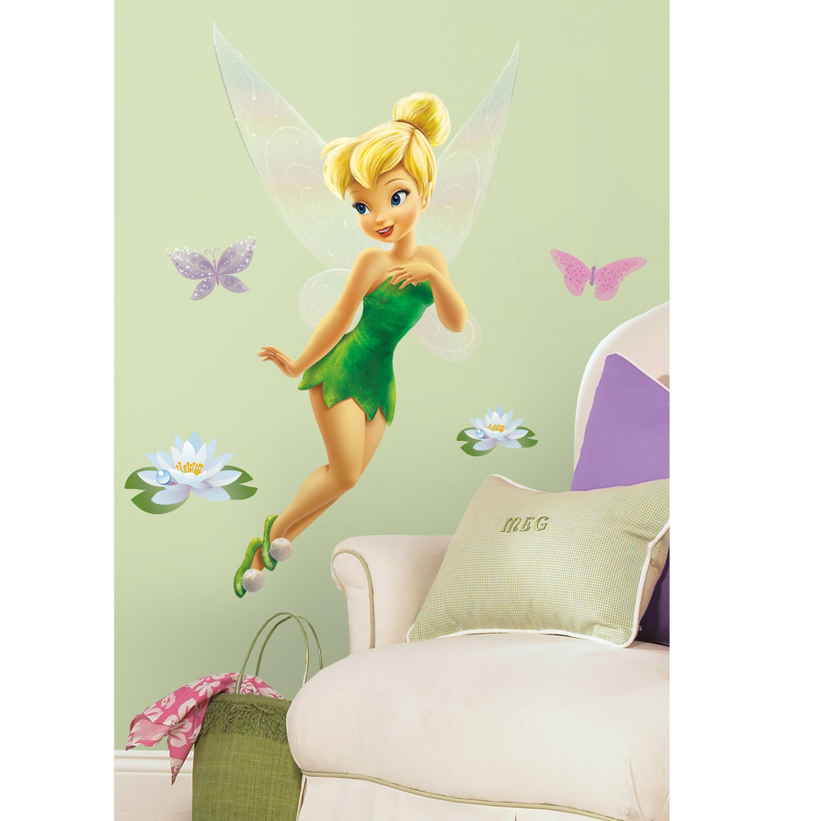 Tinker Bell Giant Peel and Stick Wall Decals