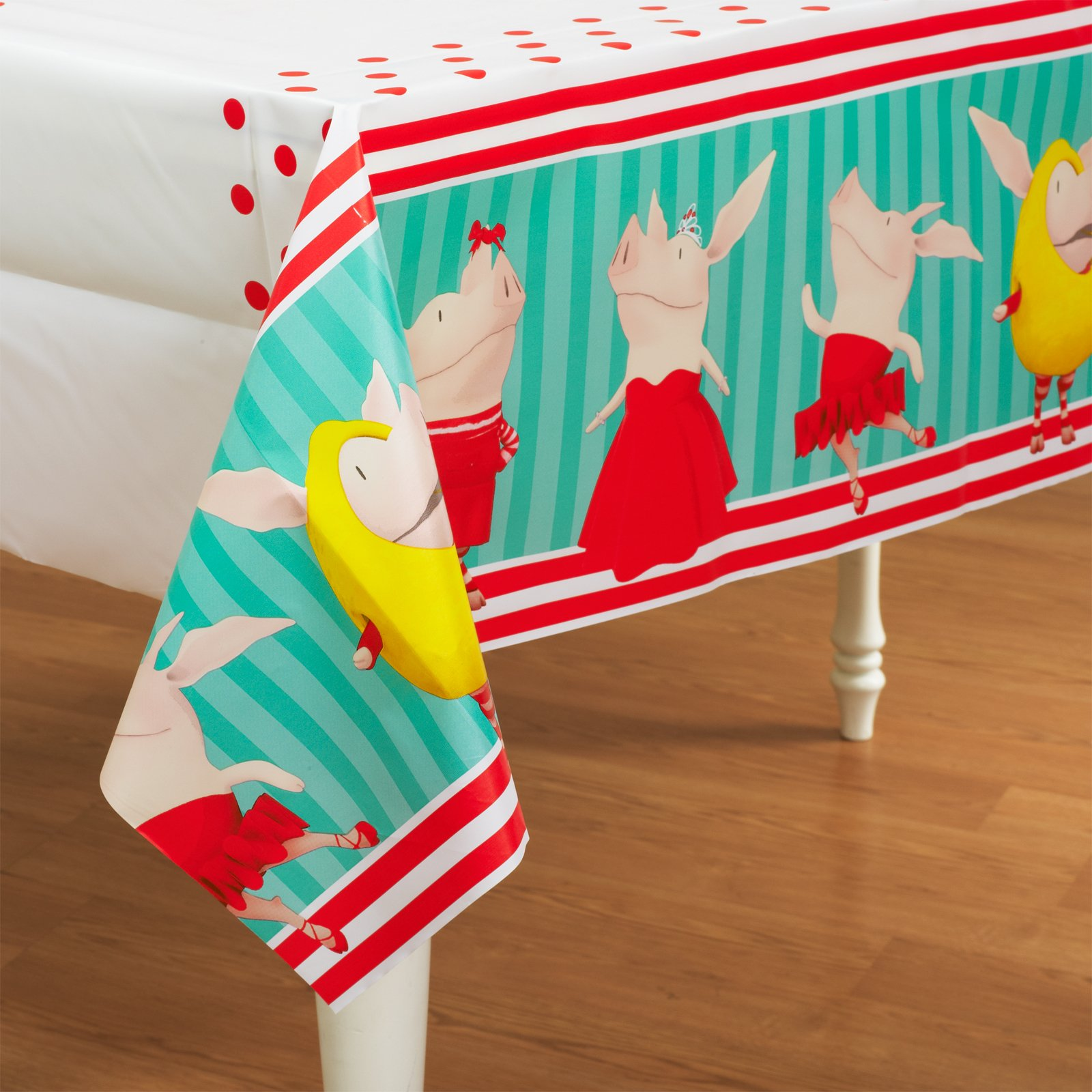 Olivia Plastic Tablecover