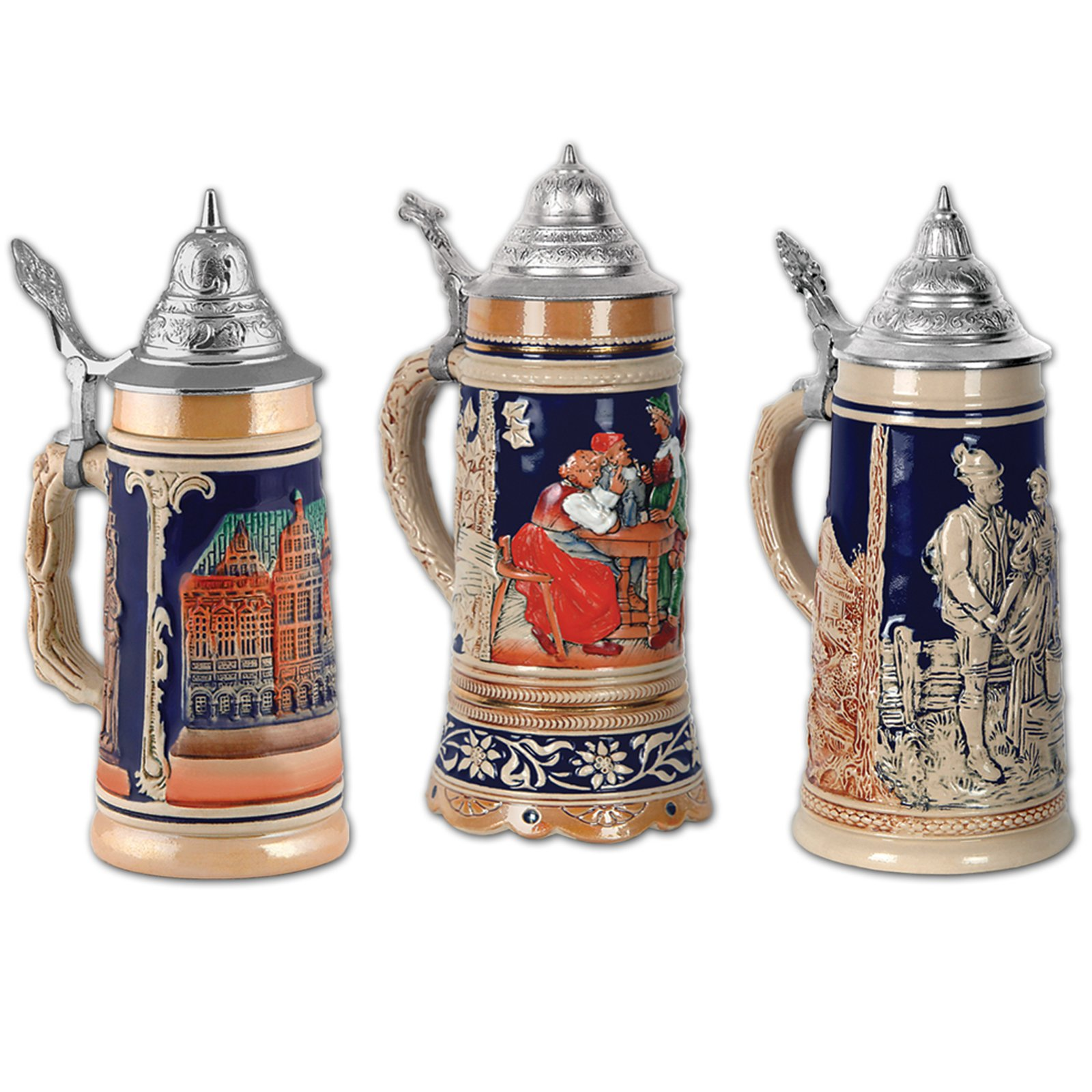 Beer Stein Cutouts (3 count)