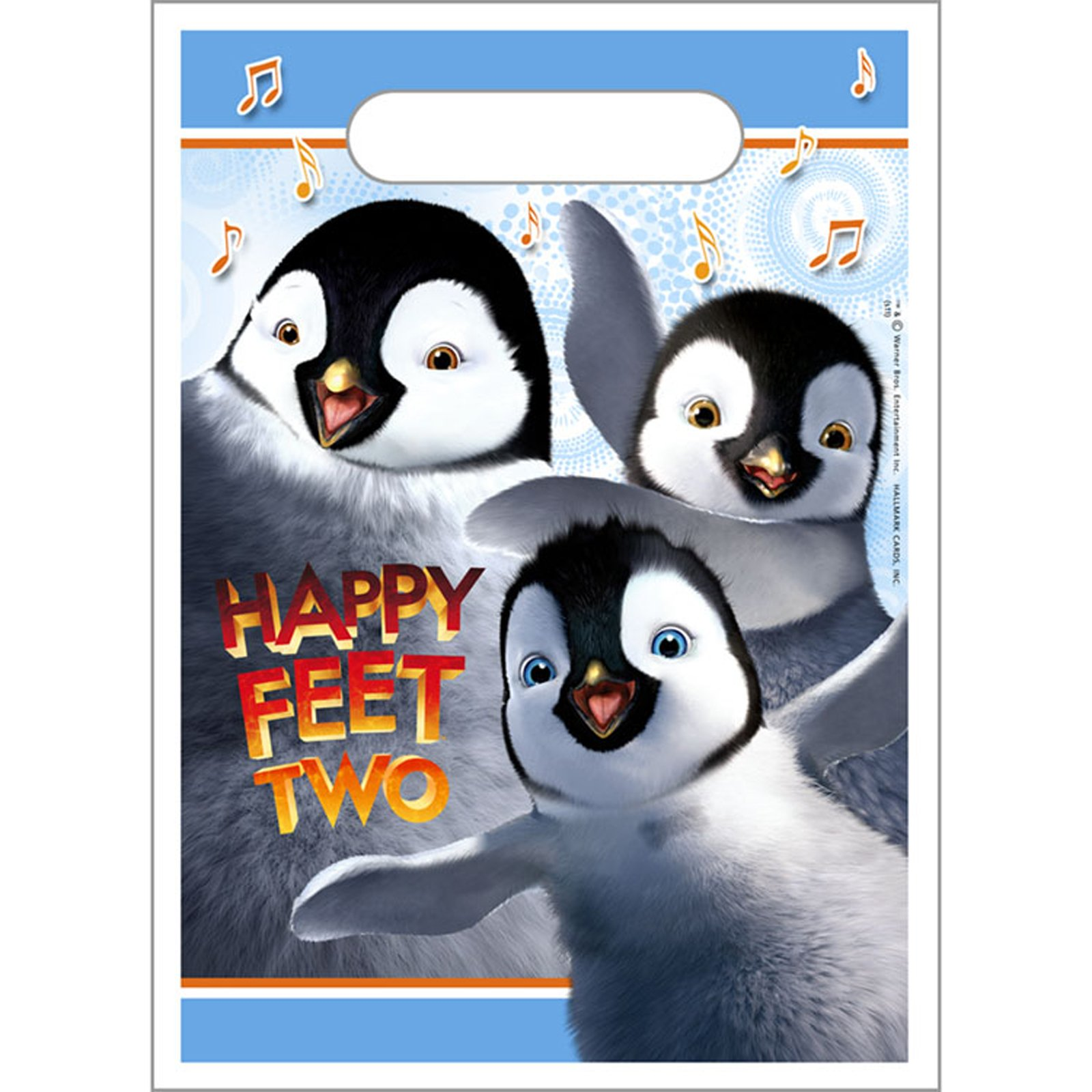 Happy Feet 2 - Treat Bags (8 count)