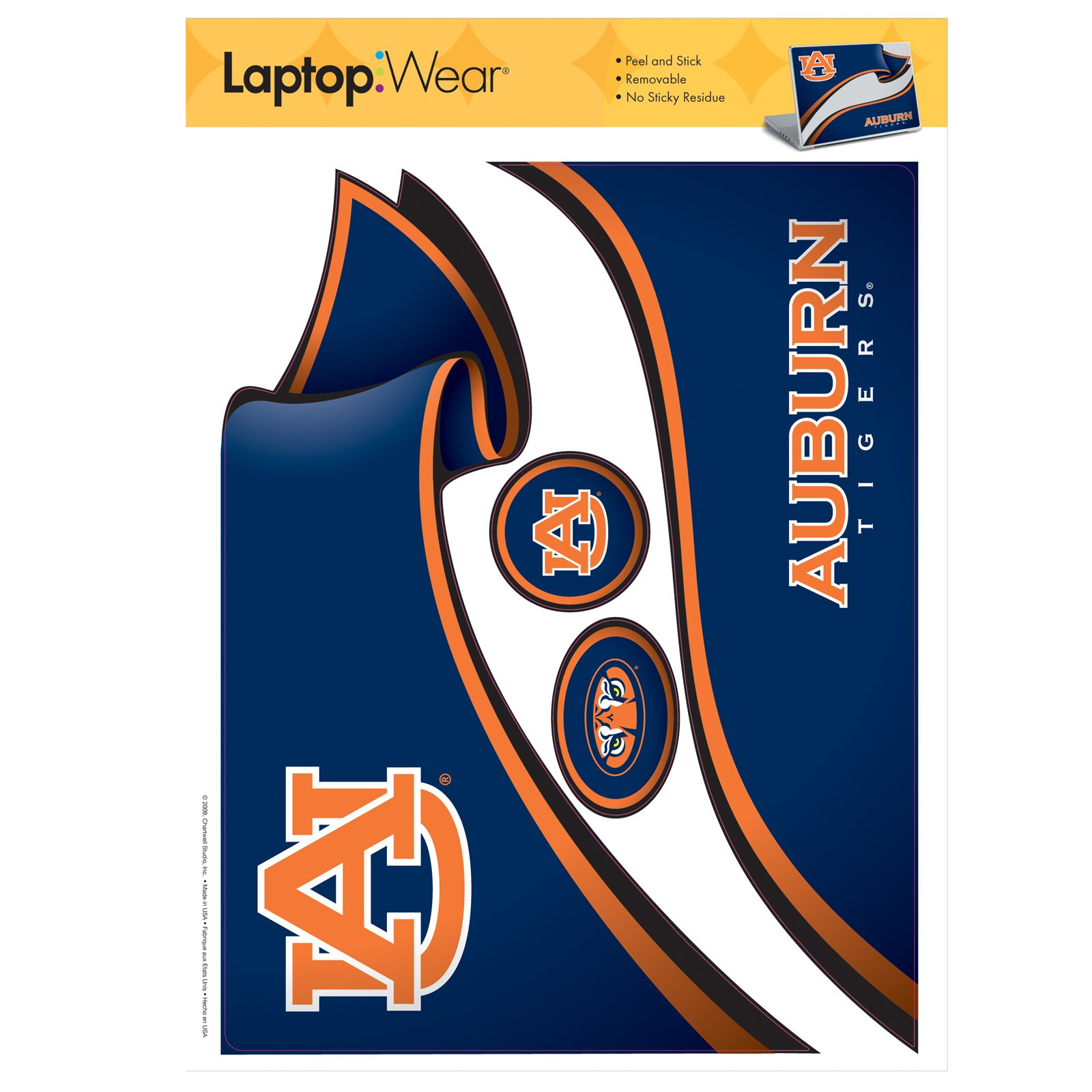 Auburn Tigers - Laptop Cover