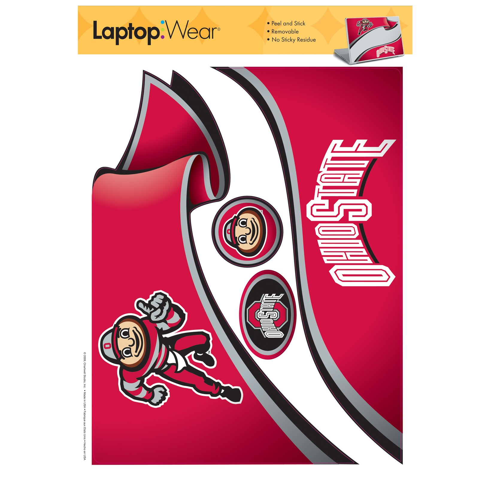 Ohio State Buckeyes - Laptop Cover