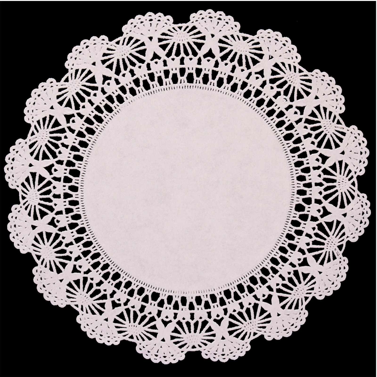 "Round 10"" Paper Doily Placemats (12 count)"