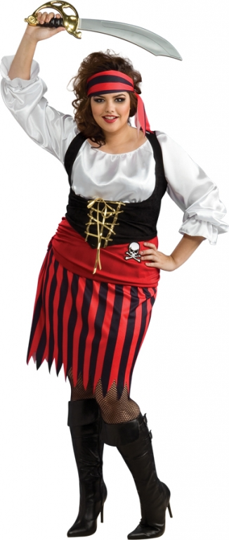 Pirate Plus Size Costume