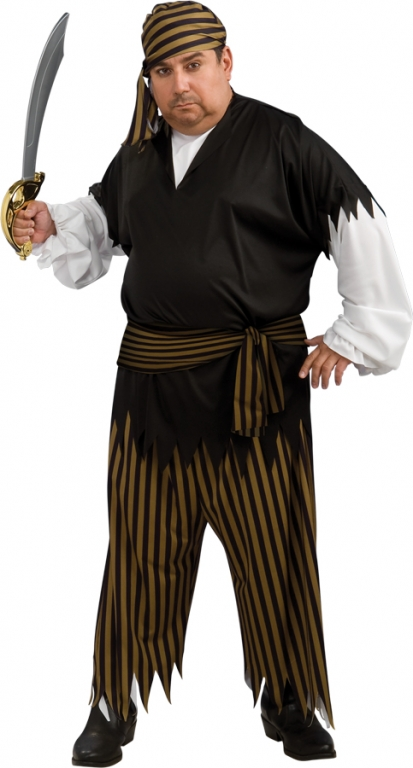 Buccaneer Plus Size Costume