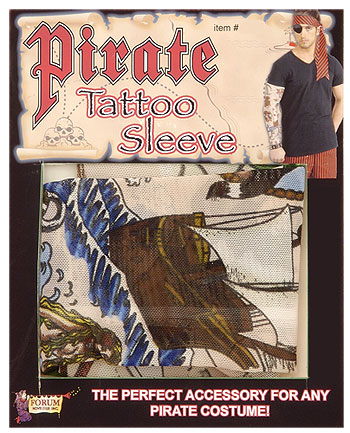 Pirate Tattoo Sleeve Accessory