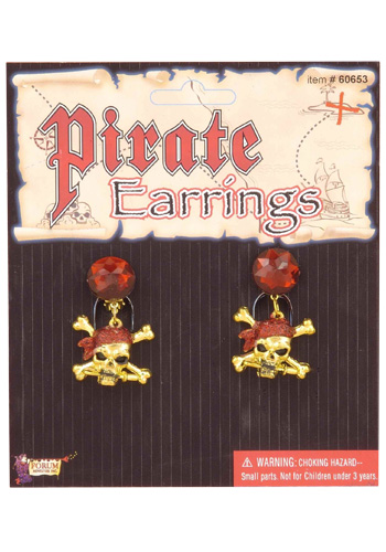 Glitter Pirate Earrings