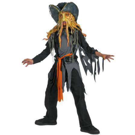 Pirates of the Caribbean 3 Davy Jones Quality Child (2007) Costu
