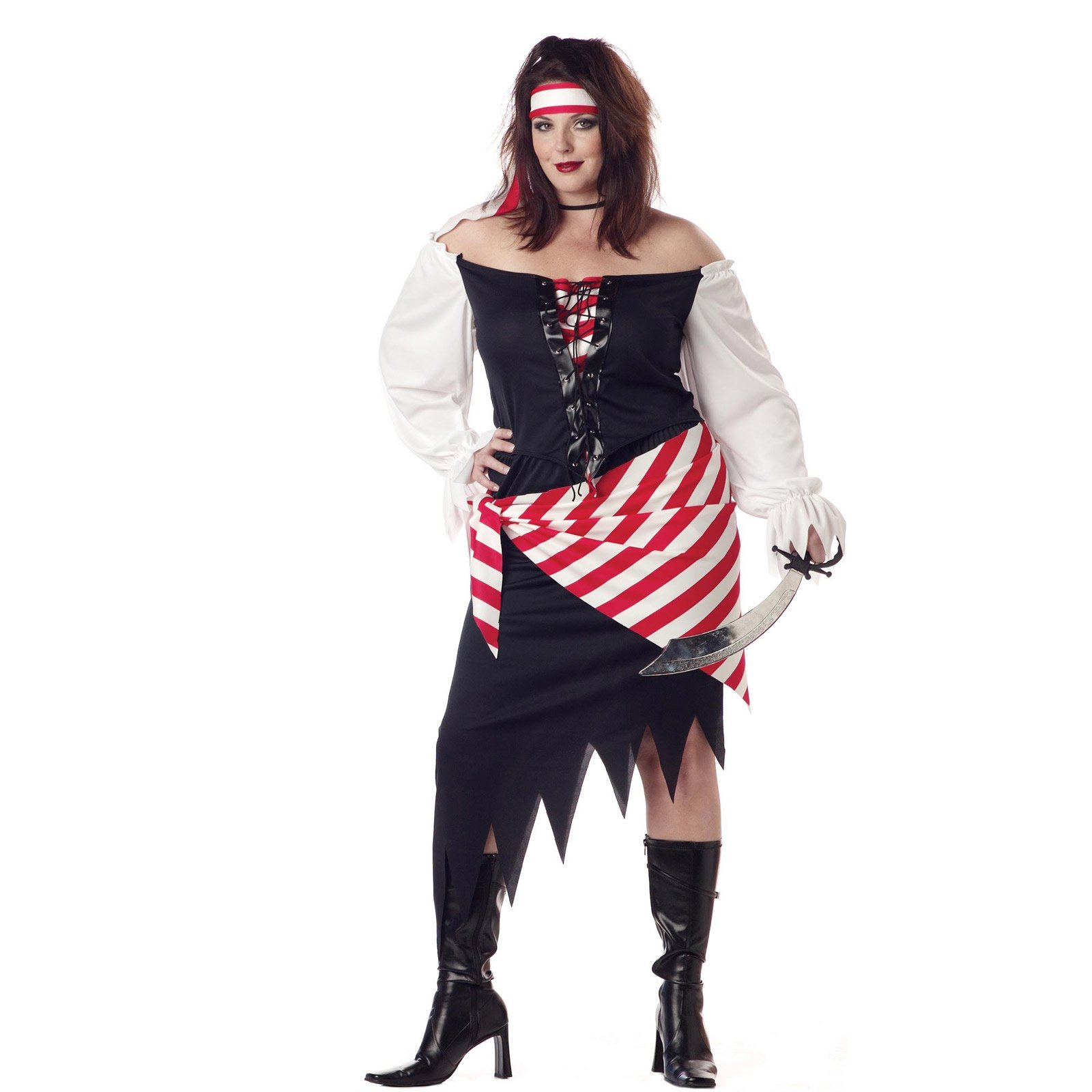 Ruby The Pirate Beauty Adult Plus Costume