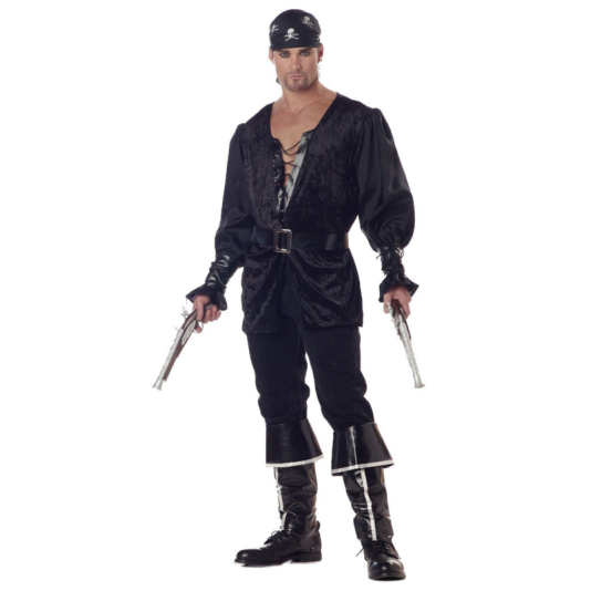 Blackheart The Pirate Adult Costume