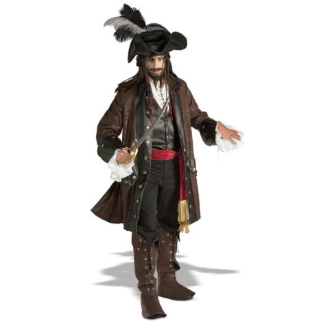 Captain Darkheart Grand Heritage Collection Adult Costume