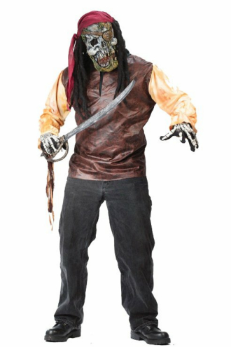 Pirate Skeleton Adult Costume