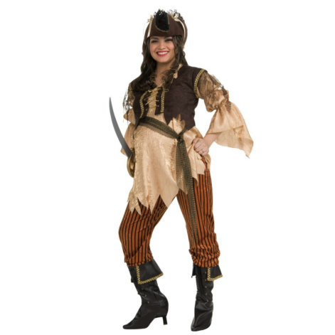 Mommy To Be Pirate Queen Adult Costume