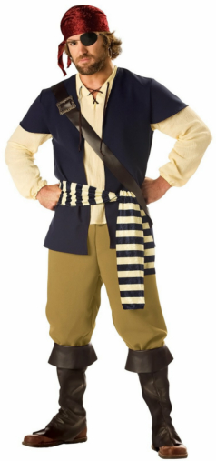 Pirate Rogue Adult Costume