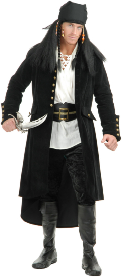 Treasure Island Adult Coat