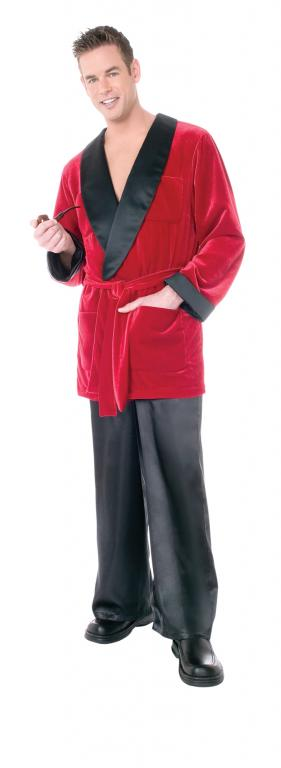 Playboy Hefs Smoking Jacket Adult Costume