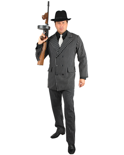 Mafia Male Adult Costume