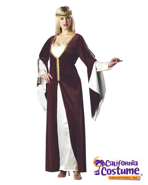 Plus Size Regal Princess Costume For Adult