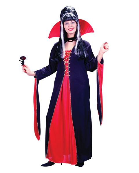 Victorian Vampiress Plus Size Costume for Women