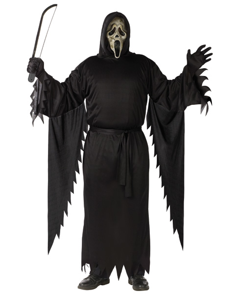 Ghost Face Zombie Plus Size Costume