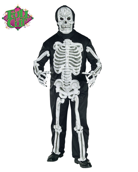 Skeleton Size Costume for Adults