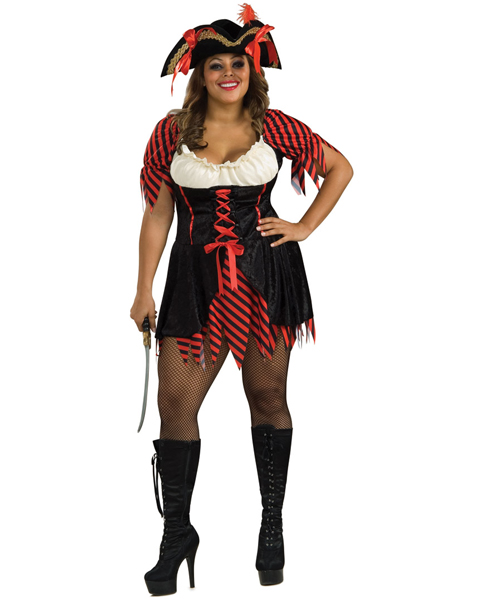 Queen Size Pirate Costume