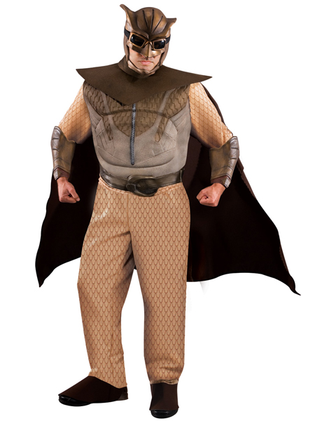 Mens Plus Size Deluxe Night Owl Costume