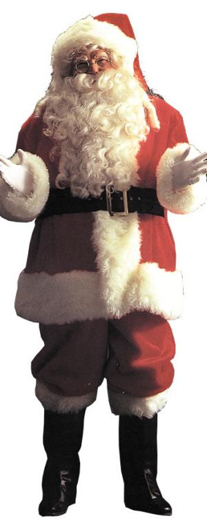 Santa Suit Deluxe Adult Costume