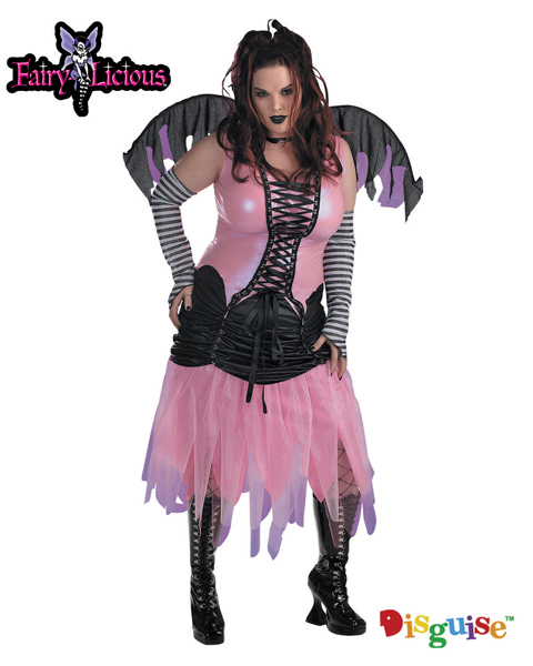 Plus Size Graveyard Fairy Costume for Adult