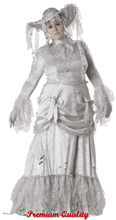 Ghostly Lady Plus Size Adult Costume